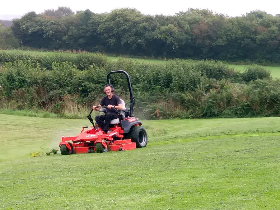 Performance, Comfort and Value - Why Adam Matthews Specified the New Ariens Zenith Zero-Turn