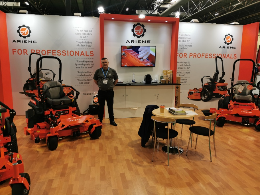 Big turnout for Ariens at Saltex