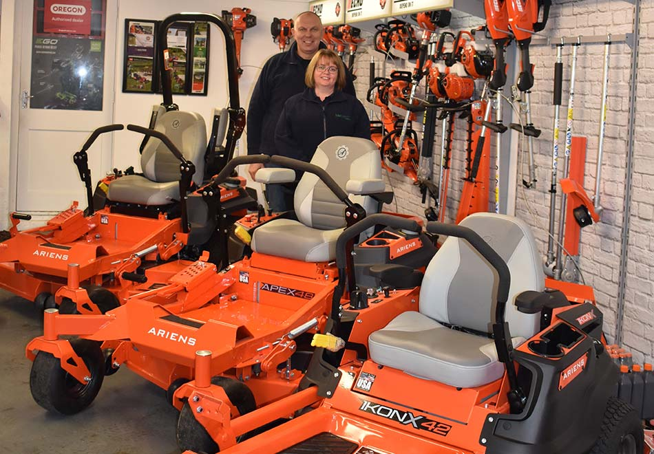 The future's bright, the future's Ariens orange
