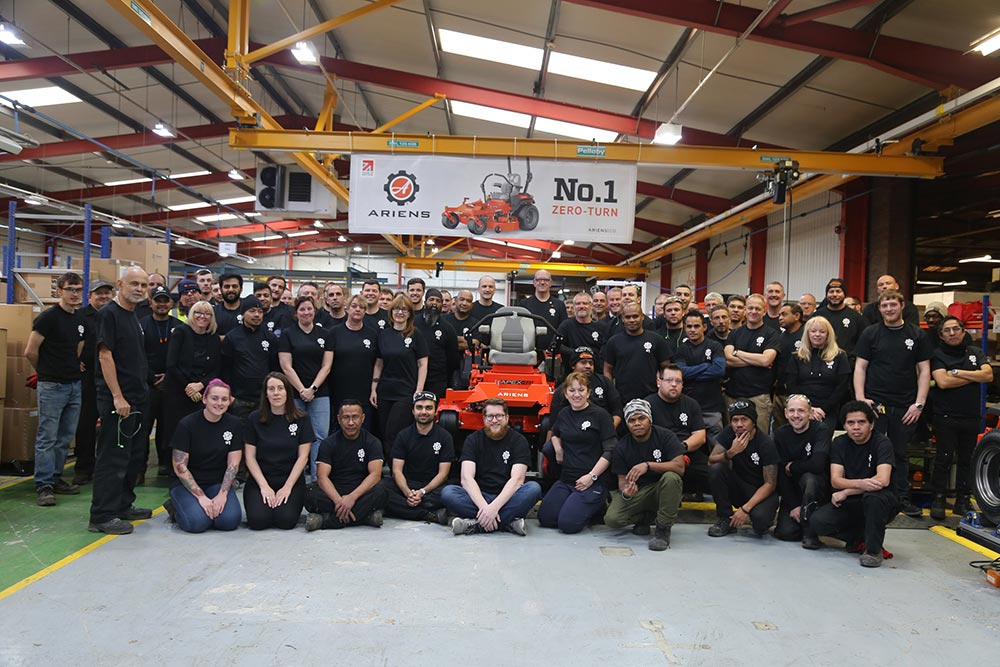 First European zero-turn mower built in Oxfordshire